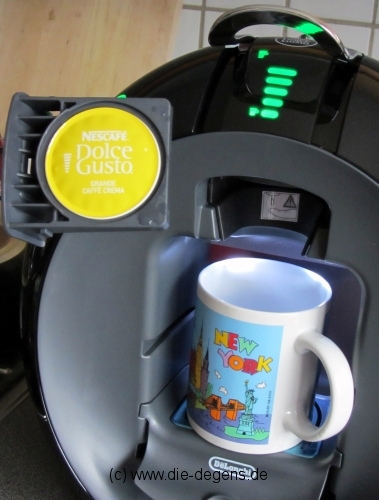 Maschine Dolce Gusto 02