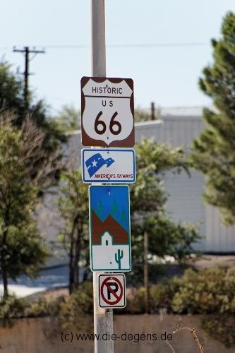 Route 66 Schilder
