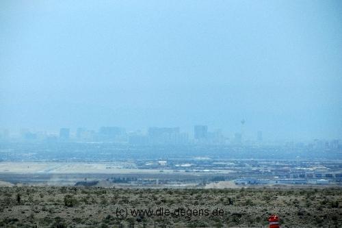 Las Vegas aus der Ferne 1