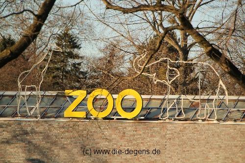 Zoo Köln Schild