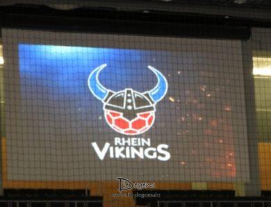 Besuch bei den Rhein Vikings