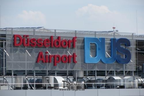 Besuchersterrasse Flughafen Düsseldorf