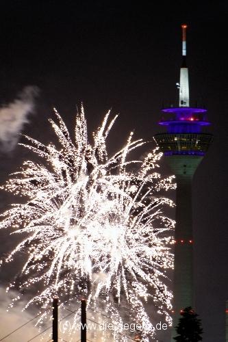 Feuerwerk Japan-Tag Düsseldorf 2012
