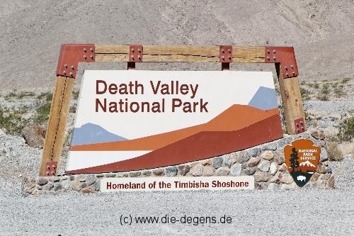 Reisebericht USA 2012 – Teil 8 – Las Vegas → Death Valley → Fresno
