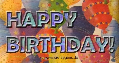 29. Februar… oder, wenn man eigentlich keinen Geburtstag hat.