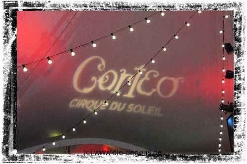 Cirque du Soleil mit Corteo