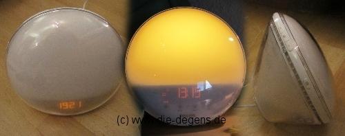 """Die Sonne geht auf… (""""Wake-up Light HF3520"""" von Phillips)"""